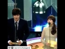 Ли Мин Хо и Пак Бо Янг на премии Blue Dragon Awards, 2011 год.