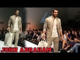 John Abraham Rocks The Runway At Lakme Fashion Week