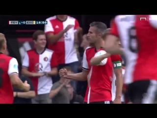 Van Persie on target for Feyenoord