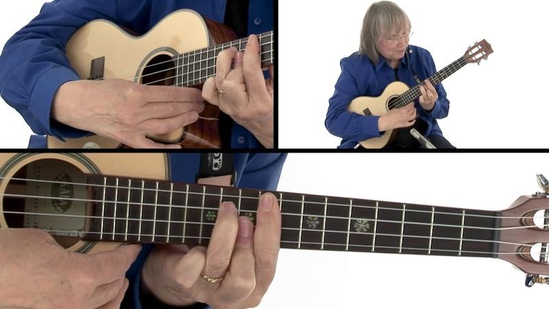 Chord Melody for Ukulele: Module 2 - Key of C Diatonic Practice Session - Marcy Marxer