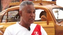 Ecuador: Dad plans 21,000km drive in WOODEN car to keep promise to daughter