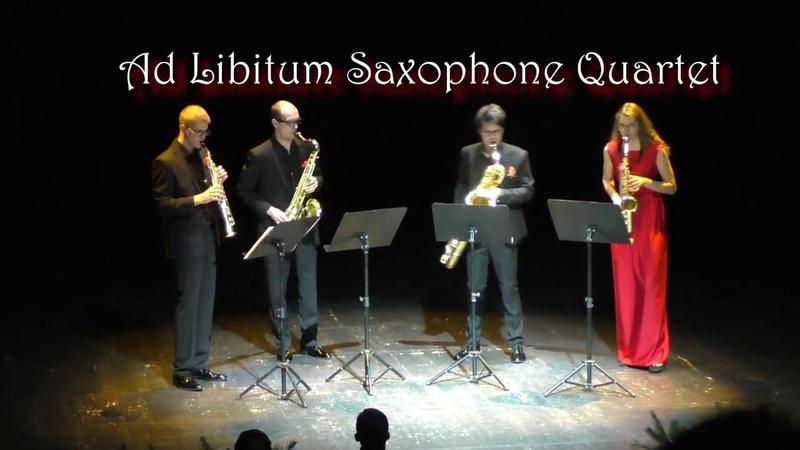Ad Libitum Saxophone Quartet Tango Virtuoso