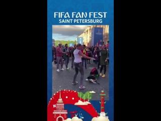 FIFA Fan Fest - разминка перед COLENG