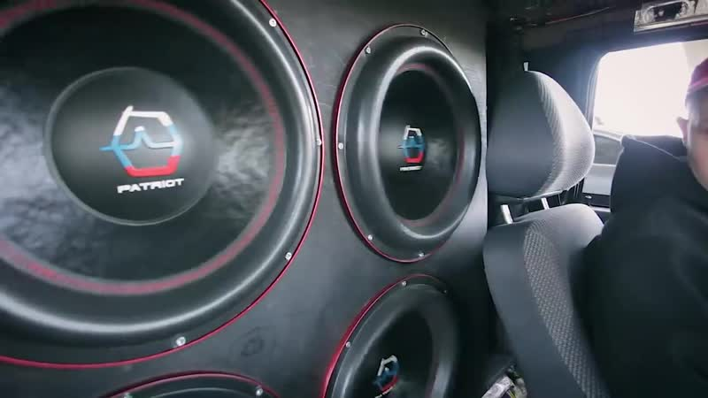 Танк - автозвук за 600к и за 40к