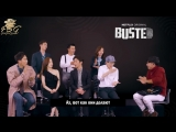 [RUS SUB] 180518 NetflixMY Facebook Interview with Busteds cast