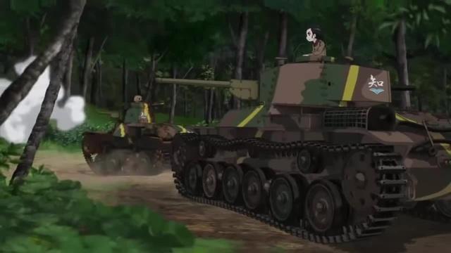 Girls und Panzer The Art of War · coub коуб