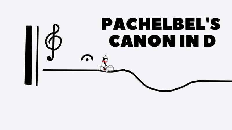 Line Rider - Pachelbel's Canon in D major