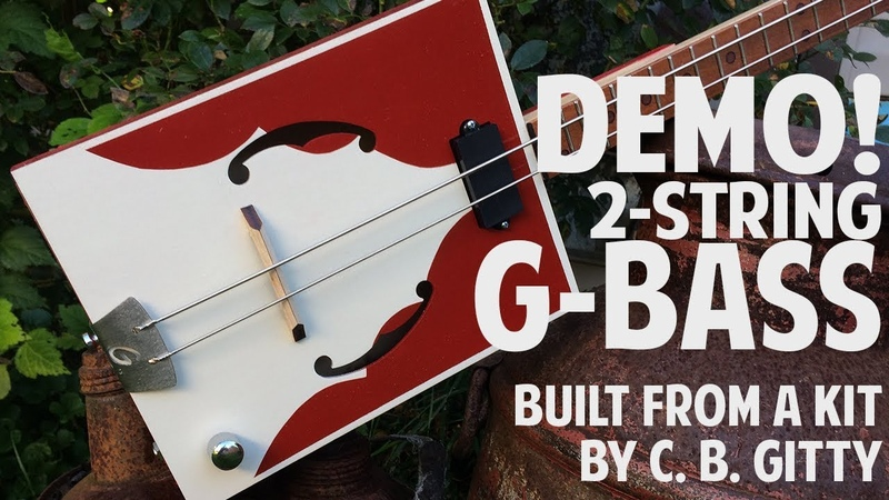 The G Bass Kit from CBGitty -Shane's First Demo