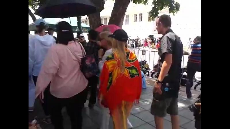 Видео 02.06.2018 Дорога в Королевский дворец Бангкок