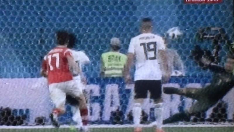 20-06-2018 Чемпионат мира по футболу РОСИЙ с ЕГИПТОМ 3-1 наши Победили.