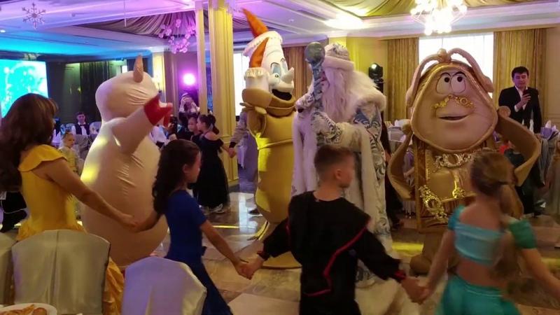Новый год Танцевально-спортивный клуб Стиль, 2018 год, ресторан Иссык Алматы, бальные танцы