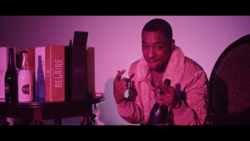 Lil Noonie - Belaire ft. Yhung T.O. (Official Video)