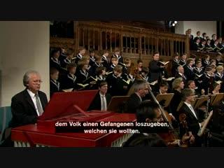 Bach. Matthäus-Passion. 2 Part. Thomanerchor (sub.).
