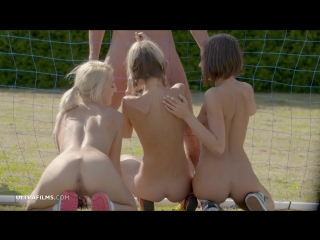 Gina Gerson , Anabelle & Katy Rose - World Cup Final Battle (15.07.2018)_720p