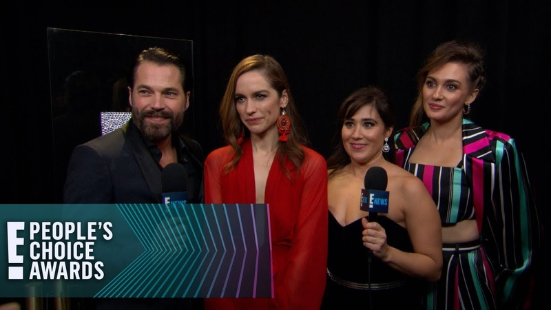 Wynonna Earp Cast Says PCAs Win Is Out of This World E People's Choice Awards
