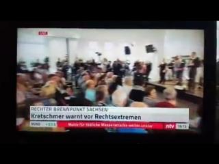 Sachsens MP Kretschmer bekommt Quittung in Chemnitz