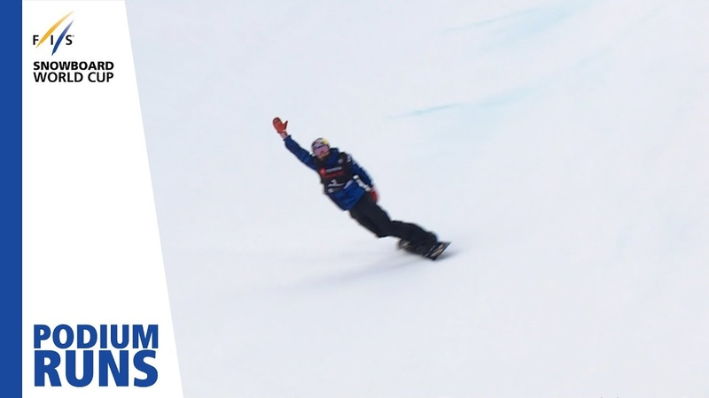 Scotty James Men's Half Pipe Copper Mountain 1st place FIS Snowboard
