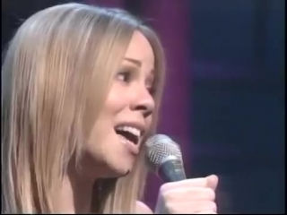 Mariah Carey - Butterfly (live at The Late Show 1997)