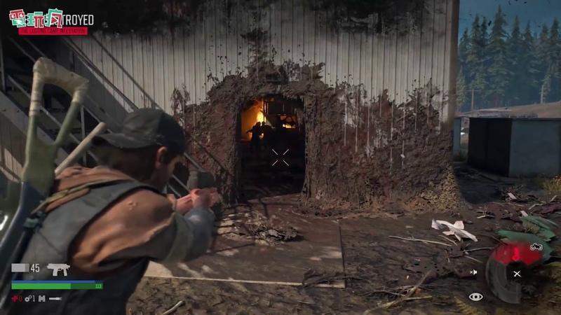 《往日不再 Days Gone》自創武器戰鬥實機試玩【TGS 2018 試玩】