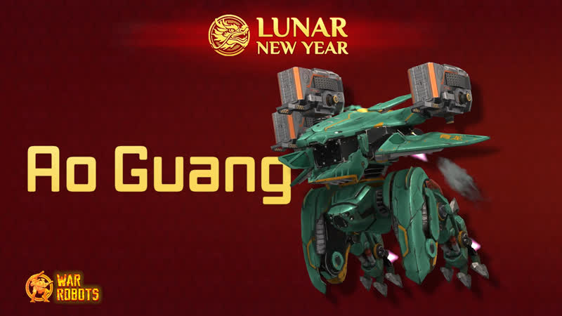 War Robots Second Dragon – Ao Guang «Green Dragon» Teaser