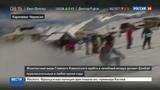 Новости на Россия 24 Российские горнолыжники штурмуют склоны Домбая.