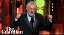 De Niro's 'Fuck Trump' speech at Tony awards