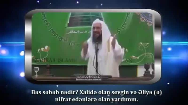 Diqqət....Əhli sünnə alimi şiə cənnətdə gedəcək..