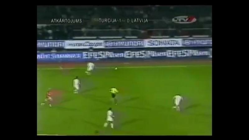EURO-2004.Qualify.Turkey - Latvia (2-nd playoff full match)