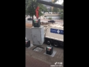Уборка мусора в Азии