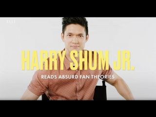 Harry Shum Jr. Reads Absurd Shadowhunters Fan Theories  ELLE