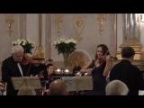 Ксения Дубровская, Люц Лесковиц - Бах, Концерт для двух скрипок ре минор 2 часть (Зальцбург, 2015)