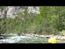 Черногория 2018рафтинг река Тара 6