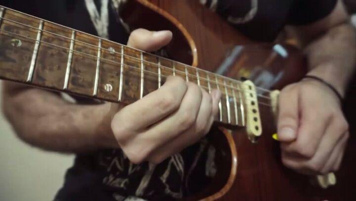 """Eliezer Lara Guitars on Instagram """"Solo - Cover da música Tender Surrender(Steve Vai) por @lytkaczenko Guitarra Eliezer Lara Strat Custom elieze..."""