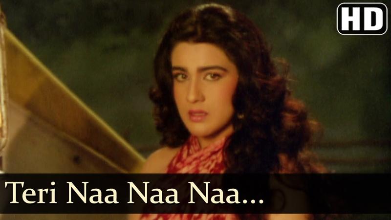 Teri Na Na Na - Vinod Khanna - Amrita Singh - C.I.D - Bollywood Songs - Alka Yagnik - Kumar Sanu