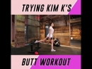 So many negative comments on this video saying that Kim Kardashian's butt is fake so why would I want to glorify her plastic bod