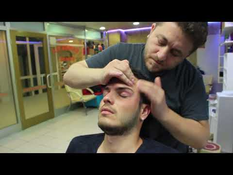 ASMR Turkish Barber Face,Head and Body Massage 120 (16 Mins) 💆‍♂️👍👍💈