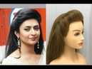 Easy Everyday Side Puff Hairstyle : How to Put Pins for Long Lasting Puff Hairstyles