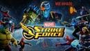 Играю на мобильном телефоне в 2019 Marvel FORCE STRIKE