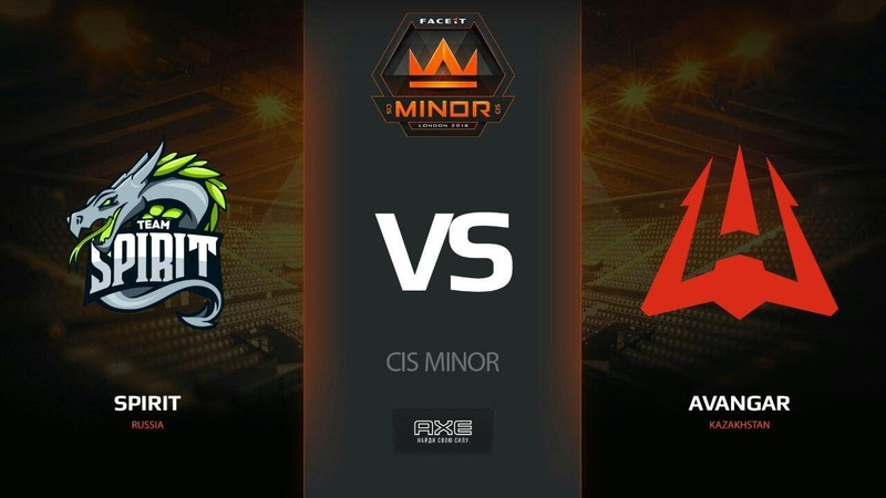 Spirit vs AVANGAR, map 1 cache, Part 1, CIS Minor – FACEIT Major 2018