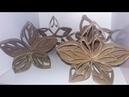 10diasdeD I Y 4 Tipos Diferentes de Flor usando Rolo de Papel Higiênico Desafio 9