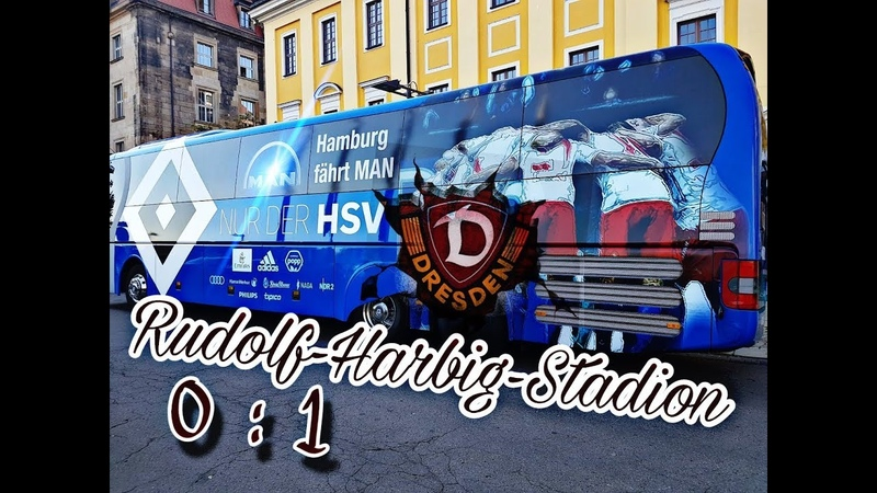 18.09.2018 | SG Dynamo Dresden vs Hamburger SV | Tor(e) 01 (00) im Rudolf-Harbig-Stadion