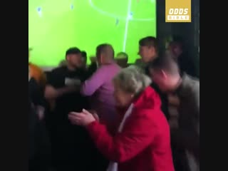 When your gran wants to join in on the football celebrations 😂