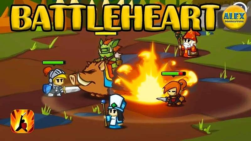 Battleheart - enter a world of epic fantasy combat! Let's Play игра на андроид и ios