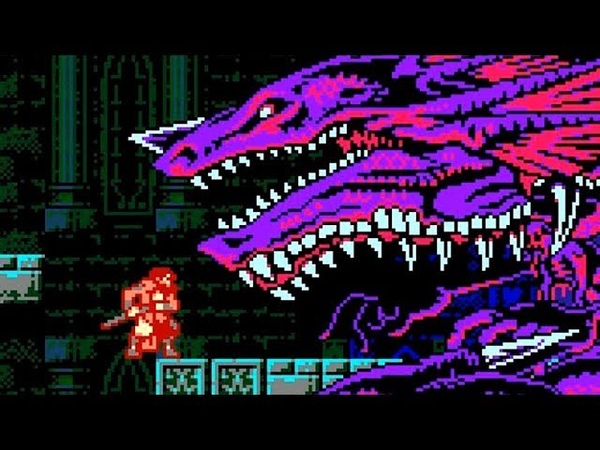 Bloodstained: Curse of the Moon - Boss Battles (No Damage)