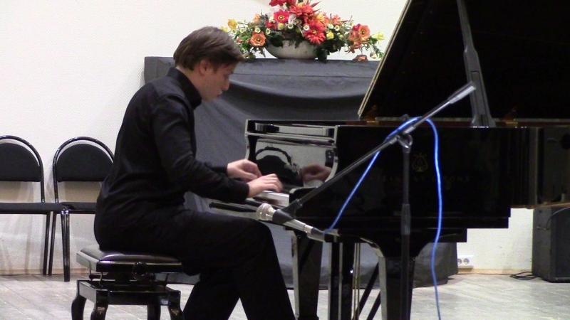В.А.Моцарт. Соната Ре-мажор I часть. Исполняет студент V курса МГК им. П.И.Чайковского