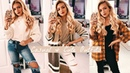 CASUAL CUTE OUTFITS for AUTUMN / FALL 2018