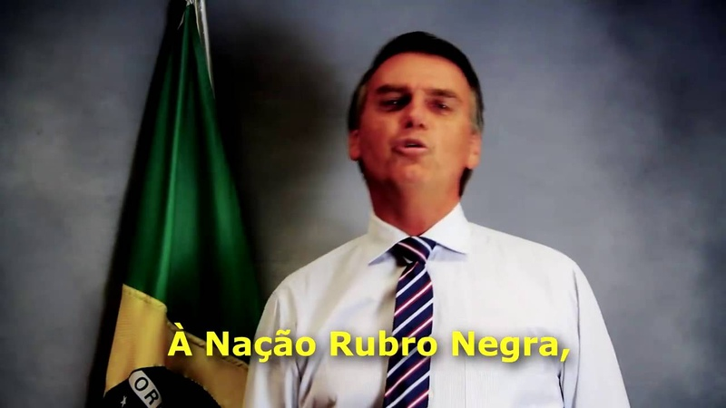 BOLSONARO MANDA RECADO A TORCIDA DO FLAMENGO