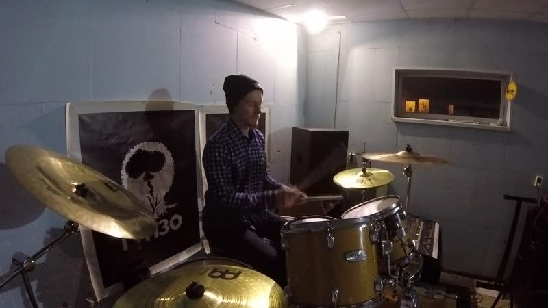 NECROPOZITIVE - Пуля для буржуя (drum cam)