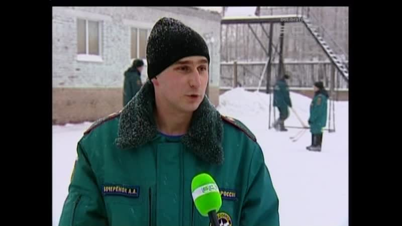 Теперь еще и хоккеисты Братские пожарные готовятся к матчу против «Байкал Энерги