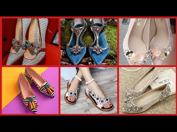 Comfertabe Stylish Sandle Shoes Designs For Girl's 2019